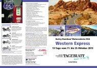 Western Express - LN-Hapag-LLoyd Reisebüro Lübeck