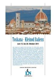Toskana - Kleinod Italiens - LN-Hapag-Lloyd Reisebüro