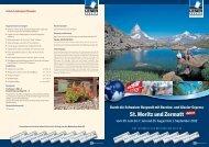 St. Moritz und Zermatt - LN-Hapag-LLoyd Reisebüro Lübeck