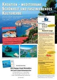 kroatien - LN-Hapag-Lloyd Reisebüro