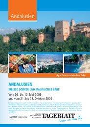 Andalusien - LN-Hapag-Lloyd Reisebüro