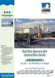 GRIBOEDOV - LN-Hapag-Lloyd Reisebüro