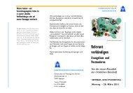Relevant verkündigen - Lebenszentrum Adelshofen