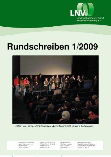 Rundschreiben 1/2009 - LNV