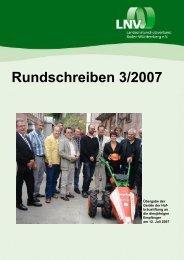 Rundschreiben 3/2007 - LNV