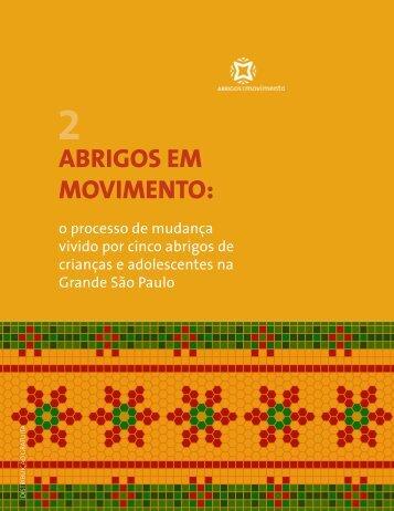 abrigos em movimento: - Instituto Fazendo História