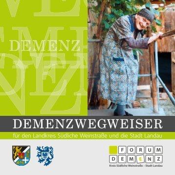Download Demenzwegweiser als pdf-Datei - Landkreis Südliche ...