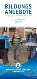 Bildungs angeBote - Lebenszentrum Adelshofen