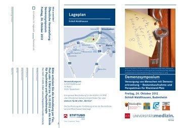 Lageplan - Landeszentrale für Gesundheitsförderung in Rheinland ...