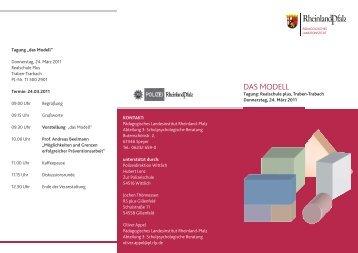 das modell - Landeszentrale für Gesundheitsförderung in Rheinland ...