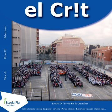 Revista de l'Escola Pia de Granollers Núm. 78 Febrer 2011 Època III