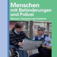 Menschen mit Behinderungen und Polizei - Landeszentrale für ...