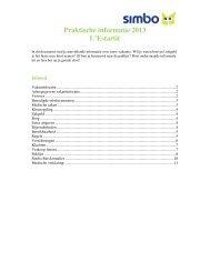 Praktische informatie 2013 L'Estartit - Simbo