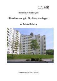 am Beispiel Osloring - Abfallwirtschaftsbetrieb Kiel