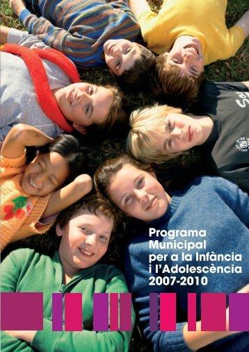 Programa Municipal per a la Infància i - Ajuntament de Barcelona