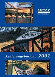 Sanierungsbericht 2001 - LMBV