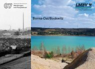 Borna-Ost/Bockwitz - LMBV