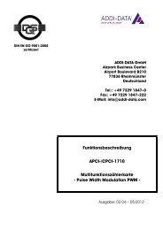 ADDI-DATA PA7301 Descargar Controlador