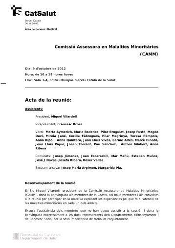 Malalties Minoritàries - Consorci de Salut i Social de Catalunya