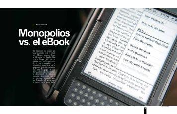 La migración de lectores pa- rece inevitable, pero el eBook en ...