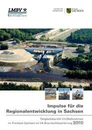 Impulse für die Regionalentwicklung in Sachsen 2010 - LMBV