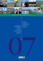 LMBV Sanierungsbericht 2007