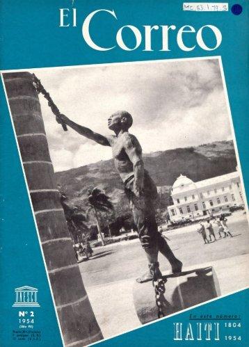 Haiti: ciento cincuenta años de independencia ... - unesdoc - Unesco