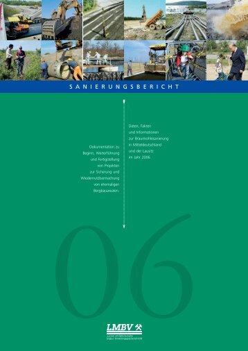 Sanierungsbericht 2006 - LMBV