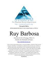 Pensamentos de Ruy Barbosa - Ordo Svmmvm Bonvm