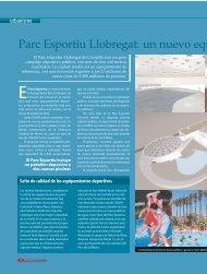 Parc Esportiu Llobregat: un nuevo equ - Ajuntament de Cornellà
