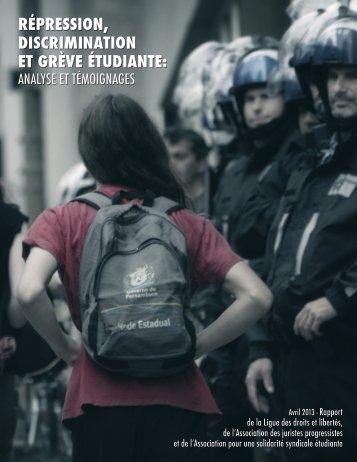 rapport-2013-repression-discrimination-et-greve-etudiante