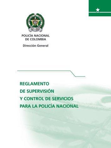 Reglamento de supervisión y control de servicios para la Policía ...