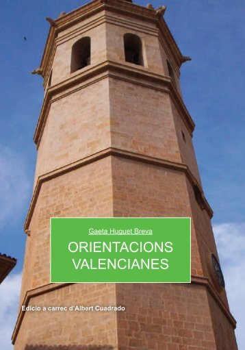 Orientacions valencianes - Plataforma Jovenil Valencianista