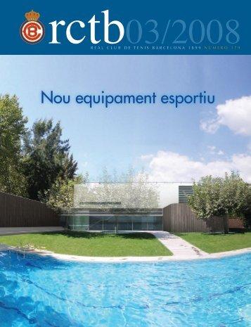 Nou equipament esportiu - Real Club de Tenis Barcelona