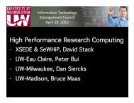 High Performance Research Computing!
