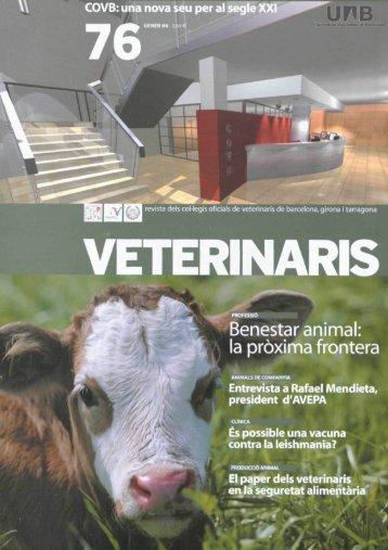 Benestar animal: la pròxima frontera - Dipòsit Digital de Documents ...