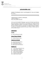 Acta Ple Núm. 6/10 - Ajuntament de Cornellà