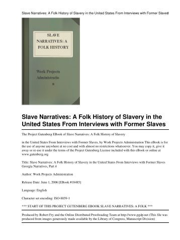 the role of slavery in the history of the united states of america Editorial reviews review every person committed to the struggle for racial  justice, liberation,  history books have painted a narrative of the us founding  that any student can recite:  but in recent years, historians have revisited that  conventional story, examining the important role slaves played for britain in its  quest to.