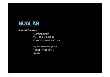 NUAL AB * (Navigator) (22 KB, pdf) - Lloyd's