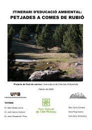Itinerari d'educació ambiental - Recercat