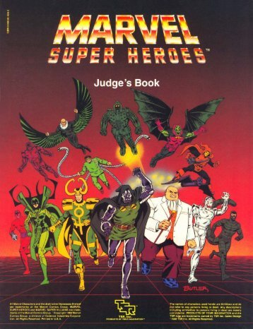 Judge's Book - Classic Marvel Forever