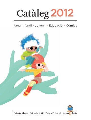 Catàleg general Grup 62 Infantil/Juvenil 2012
