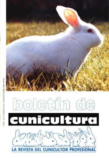 boletin de cunicultura - Ministerio de Agricultura, Alimentación y ...