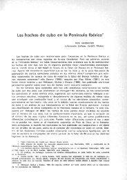 Las hachas de cubo en la Península Ibérica.Ron ... - Repositori UJI