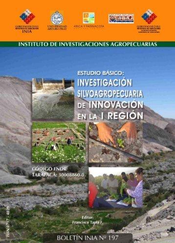 Boletín INIA 197 - Estudio Básico: Investigación ... - Platina - INIA
