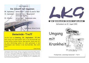 03 I-Blatt Umgang mit Krankheit-KA - LKG Karlsruhe