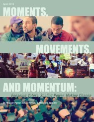 MOMENTS, MOVEMENTS, AND MOMENTUM: