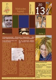 Newsletter 1/2013 - Märkischer Kreis