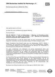 DIN Deutsches Institut für Normung e. V. - LiTG