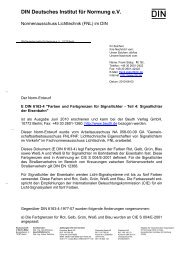 DIN Deutsches Institut für Normung e - LiTG